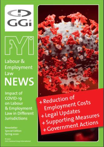 Külön kiadás a korona vírus hatása a munkaügyi kérdésekre vonatkozóan
